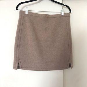 J Crew Beige Mini Skirt